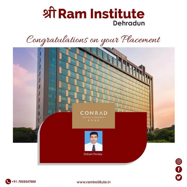 Congratulating our Gems for grabbing a commendable job opportunity with Conrad , Pune